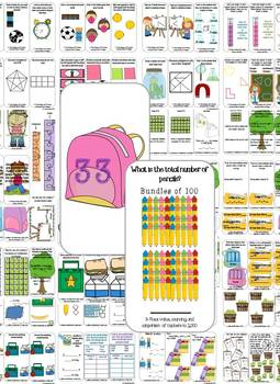 Back to School: 3rd Grade Task Cards and Journal (Math)