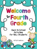 Back to School: 4th Grade Activity Pack