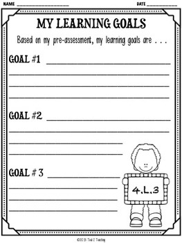 Back to School 4th Grade Language CCSS Pre/Post Assessment (4.L.3)