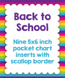 Back to School 5 x 6 inch Notecards