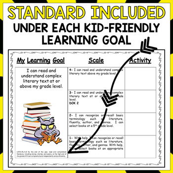 5th Grade Florida Reading Standards and Scales