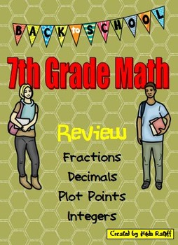Back to School 7th Grade Math