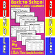 Back to School - The Big Bundle - 8 Math-Then-Graph Activities - Solve 2-Step