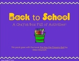 Back to School: A Crayon Box Full of Activities