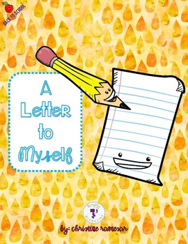 A Letter to Myself: Back to School {FREE}