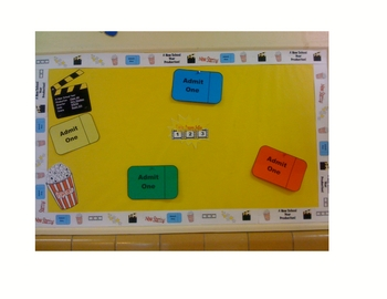Back to School Desk Tags Set: A New School Year Production