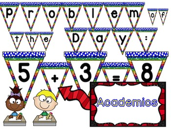 Back to School:  ABC Bunting