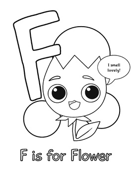 Back to School: ABC Coloring Activity Page Printables for Preschool and Kinder