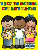 Back to School ABC Cut and Paste