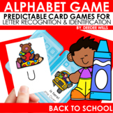 Back to School ABC Game ~ editable