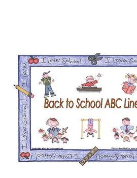 Back to School ABC Line