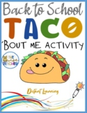 All About Me | Back to School | Let'sTaco'BoutME (PPT) #AllAboutMe