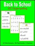 Back to School (ASL Fingerspelling)