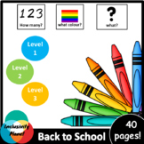 Back to School AUS/UK version HOW MANY, WHAT COLOUR, WHAT?