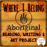 EARTH DAY: Aboriginal Reading, Writing & Art Project: Where Do I Belong?