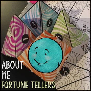 Back to School About Me Cootie Catcher