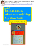 Free Back to School About Me Craftivity - My Own Book