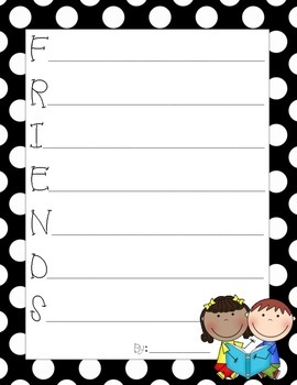 Back to School Acrostic Poems Pack