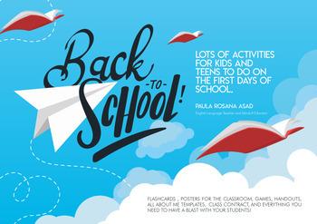 Back to School Activities!!!