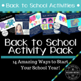 Back to School Activities - 14 Awesome Activities to Start