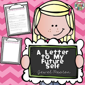 First Day of School Activities Letter to My Future Self