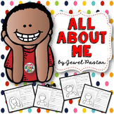 First Day of School Activities (All About Me Activities)