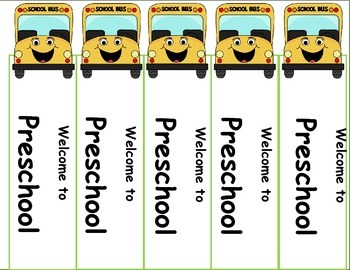 First Week of School, Back to School Activities Bookmarks Freebie