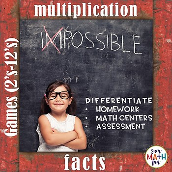 Multiplication Facts Games (2's to 12's)