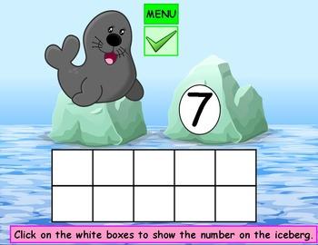 Ten Frame Kindergarten Math