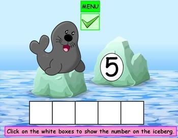 Counting Kindergarten Math PowerPoint Game