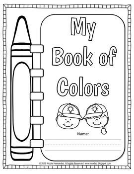 Colors - My Book of Color