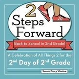 Back to School Activities • 2nd Day of 2nd Grade Bundle •