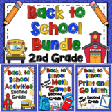 Back to School Activities - 2nd Grade Bundle