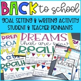 Back to School Activities and Goal Setting