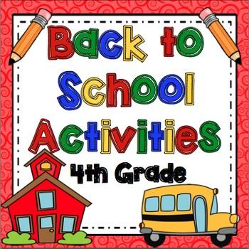 Back to School: 4th Grade