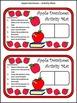 Back to School Activities: Apple Dominoes Fall Math Activi