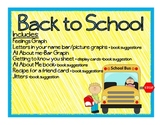 Back to School Activities-Beginning of the Year