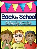 Back to School Activities, British Spelling