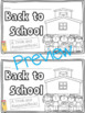Back to School Survival Kit for Primary!