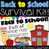 Back to School Survival Kit!