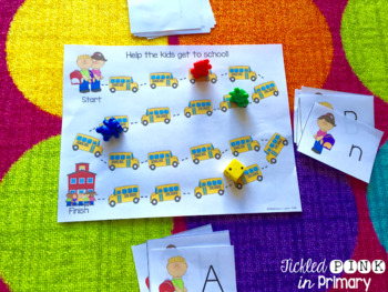 Back to School Literacy and Math Activities