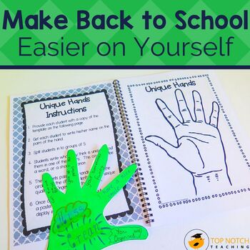 Back to School Activities - Bundle