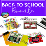First Day of School Activity Bundle