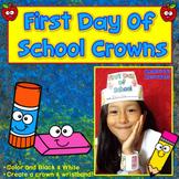 First Day of School Activities : Crowns & Wristbands - Back to School Activities