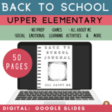 Back to School Activities Elementary | Google Slides | All