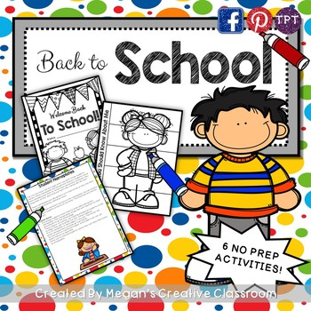 Back to School Activities {First Day Fun}