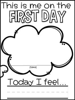 Back to School Activities (First Week of School)