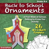 Back to School Activities – First Week of School, All About Me Circlebooks
