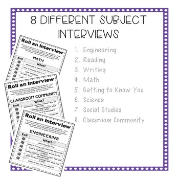 Back to School Activities Get to Know You