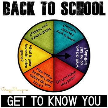 Back to school activities | Ice breaker activities